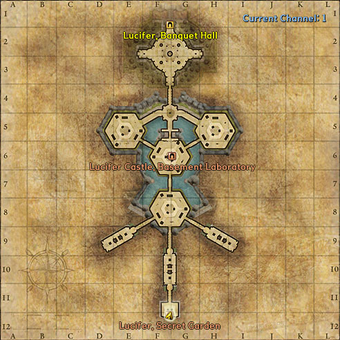 Lucifer, Moonlight Garden map image