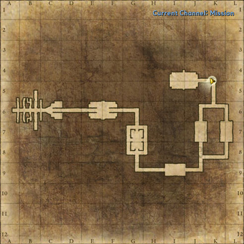Porto Bello, The Hold map image