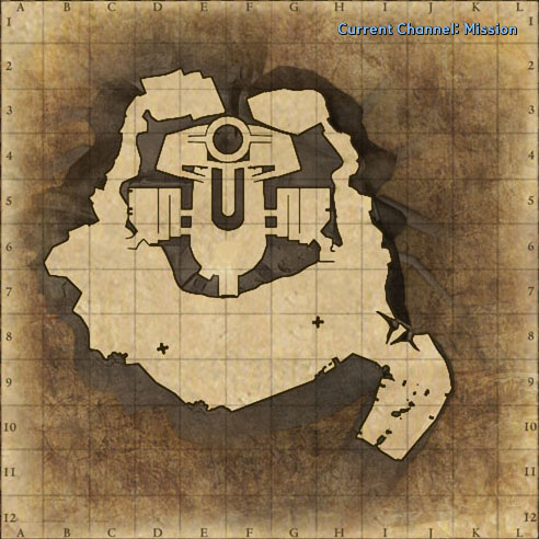Mission: Demonic Tubkal Mine Dungeon map image