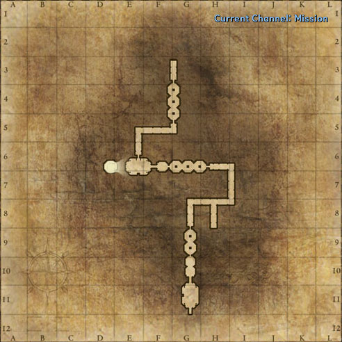 Mission: Demonic Occulta Dungeon map image